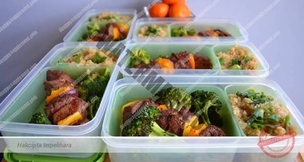 Menu Simple Makanan Harian Bulking