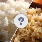 Nak Makan Beras Perang Atau Beras Putih?