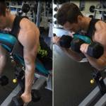 Buat Spider Curl Untuk Besarkan Biceps