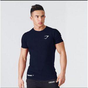 T Shirt Gym Apex BodyFit Blue