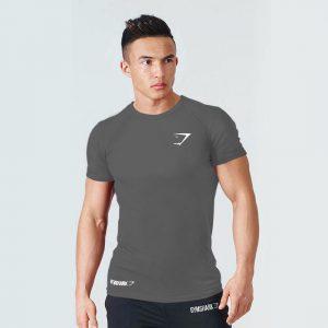 T Shirt Gym Apex BodyFit Grey