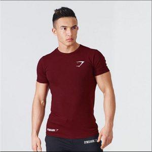 T Shirt Gym Apex BodyFit Red