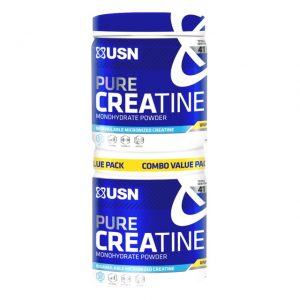 USN Pure Creatine (BUY 1 FREE 1) 205g + 205g