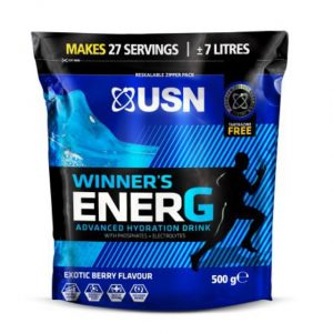 USN Winner's Ener-G (Sports Hydration Drink) 500g